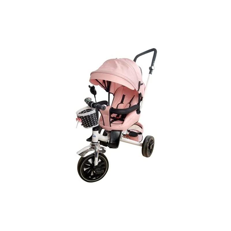 Triciclo 2 en 1 Reversible, Silla Paseo + Triciclo
